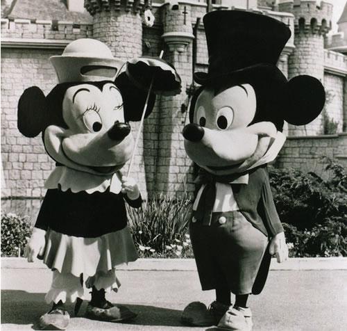 1961年のミッキーとミニー