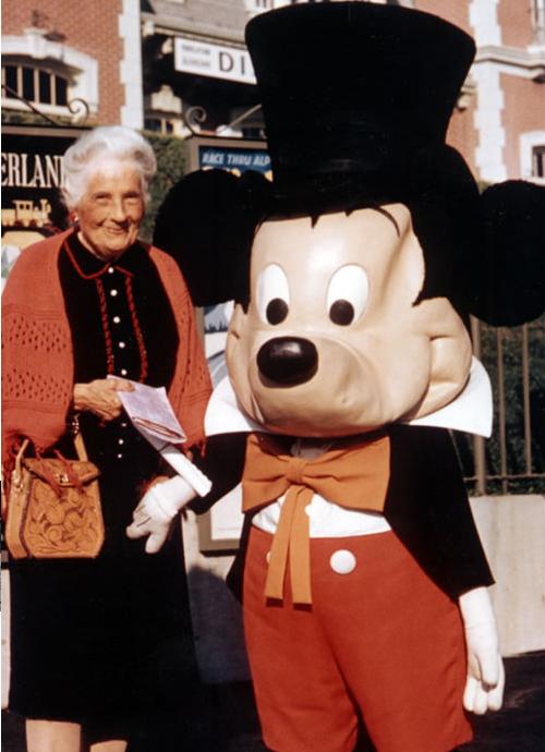 1961年のミッキー