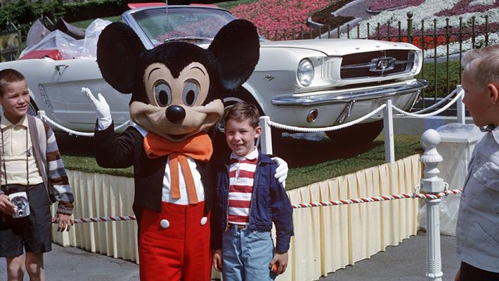 1964年のミッキー