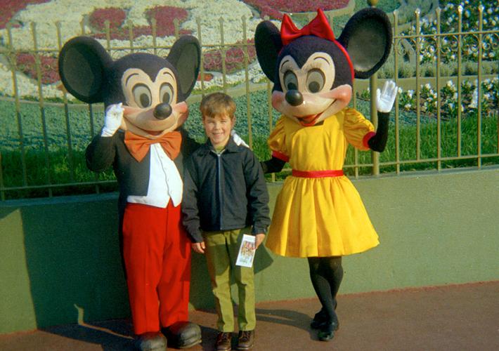 1970年のミッキーとミニー