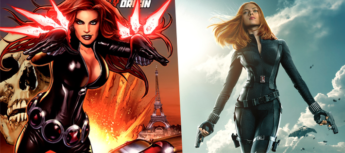BLACK WIDOW(Natasha Romanoff)