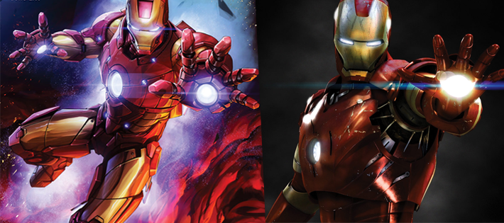 IRON MAN(Tony Stark)
