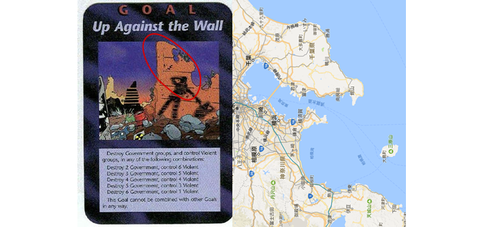 横浜の地図と一致