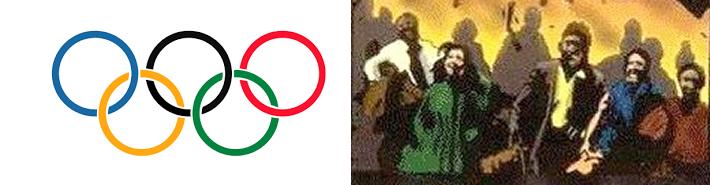 オリンピックの色