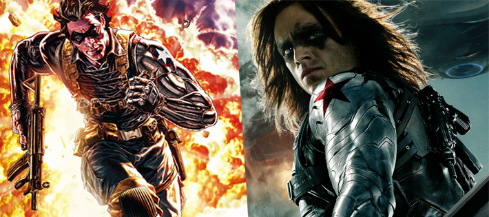 Winter Soldier(Bucky Barnes)