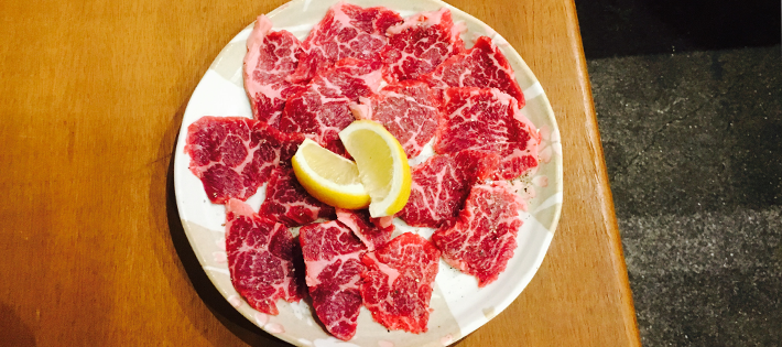 焼き肉高西_カルビ
