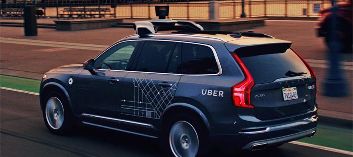 uber自動運転技術