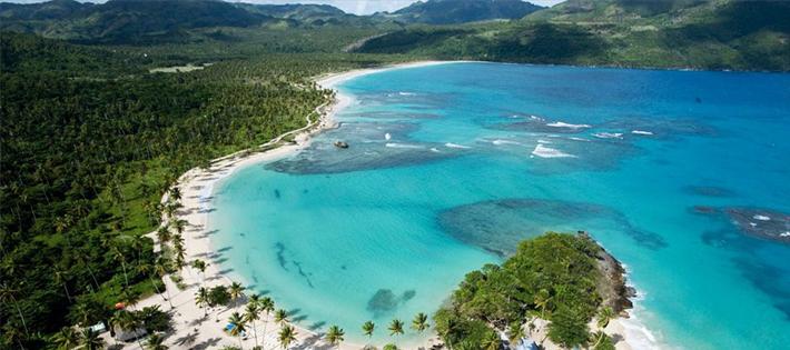 ドミニカ共和国のビーチ