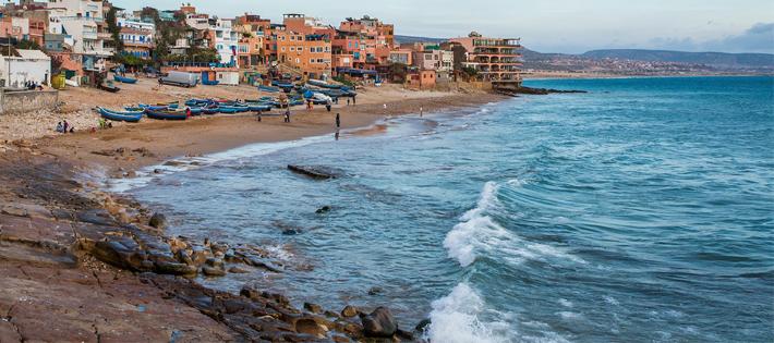 モロッコのビーチ