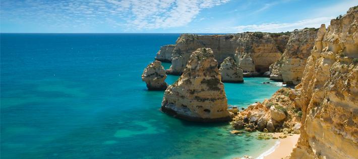 美しいポルトガルの海