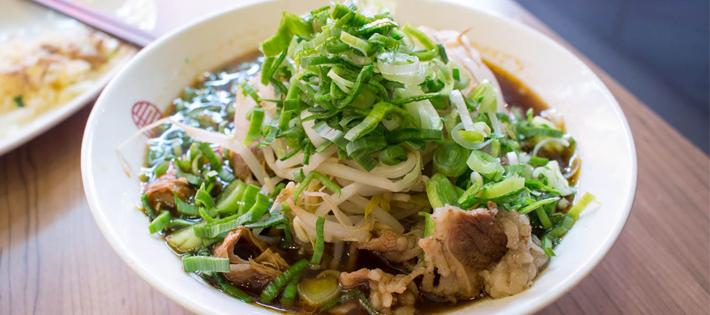 麻膳堂の麺
