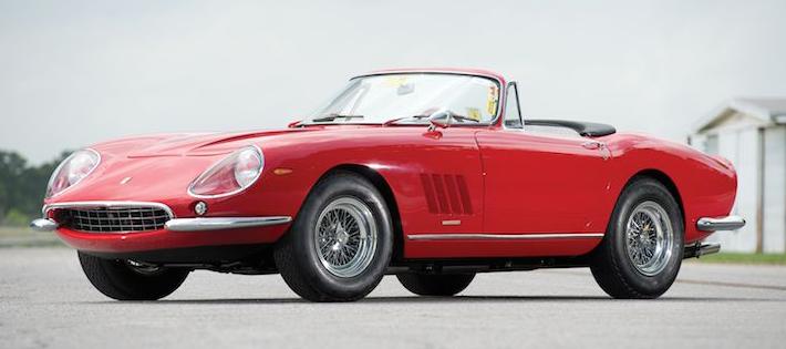 1967 Ferrari 275 GTB/4 N.A.R.T. Spider, Chassis 10709