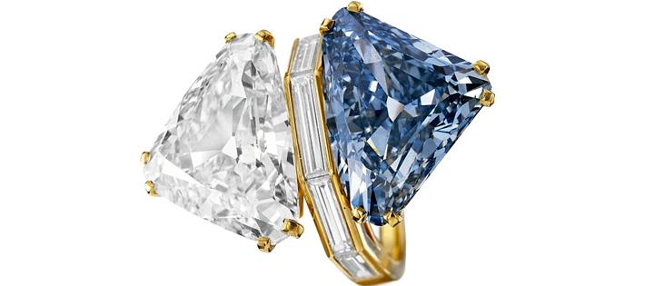 ブルガリ/ツーダイヤモンドリング