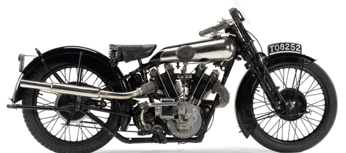 1925 Brough Superior SS100 Serial #001