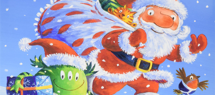 サンタクロースもパンツがだいすき