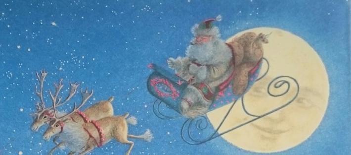 しずかな しずかな クリスマス・イヴのひみつ