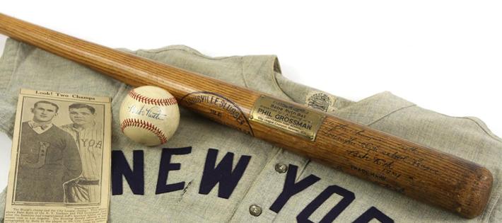 史上最高額の野球バット
