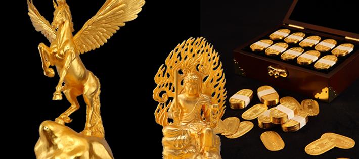 金の工芸品