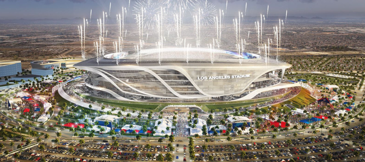 los angeles stadium