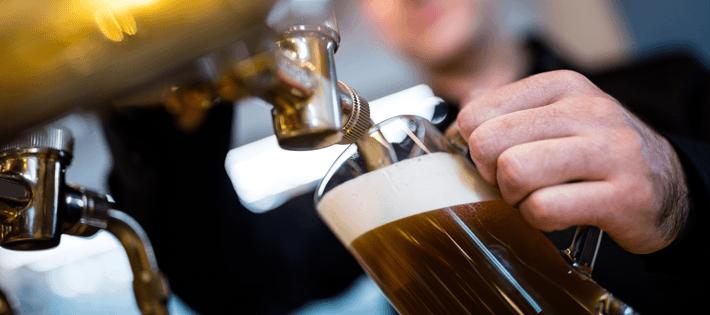 ビールサーバーで注いだビールはうまい!