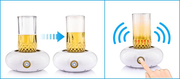 超音波式ビールサーバー