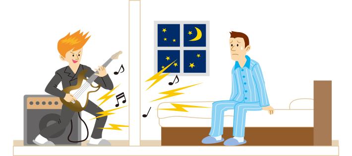 隣人との騒音トラブル