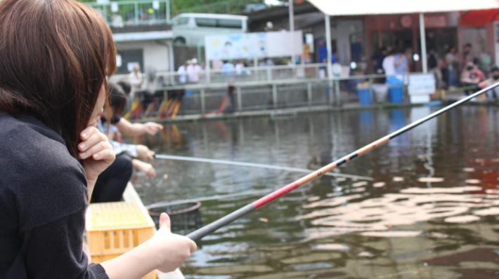 東京のおすすめ釣り堀