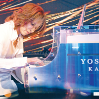 yoshikiカワイピアノ