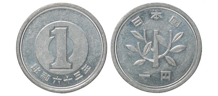 一円玉の金属の種類や重さについて