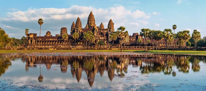 カンボジアの平均月給