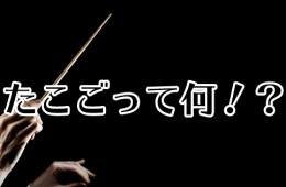 たこごって何!?クラシック音楽の略語