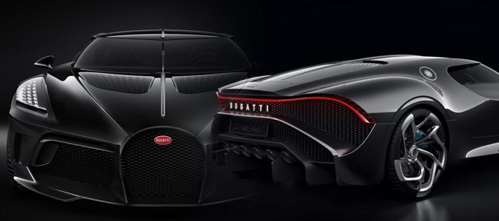 ブガッティが世界一のスーパーカーを発表!お値段はなんと約14億円!!